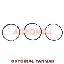 YANMAR Komplet pierścieni tłokowych 3TNE84 4TNE84
