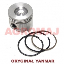 YANMAR Complete piston with rings (STD) 3TNE78A