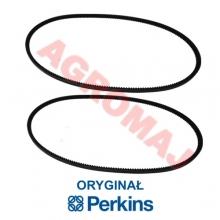 PERKINS V-belts (2 pcs) ORIGINAL1004.4T 1004.4