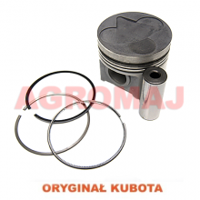 KUBOTA Piston with a pin and a ring V3300