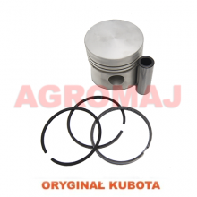 KUBOTA Piston with a pin and a ring DI302 V1702