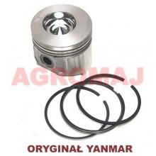 YANMAR Complete piston with rings (STD) 3TNE82