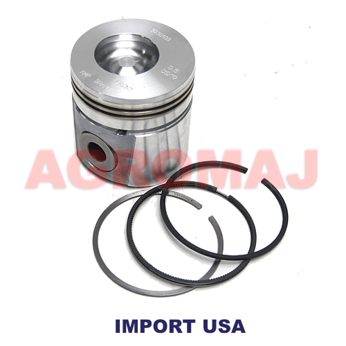 CUMMINS Complete piston with rings (+0,50) 4BT3.9 6BT5.9, 3802758, 3930188