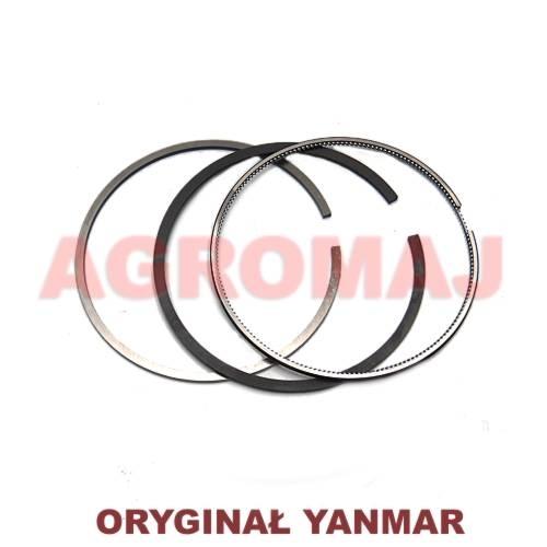 YANMAR A set of piston rings 4TNE106D 4TNE106T, 123907-22011, 12390022050, 123900-22050, 12390722011