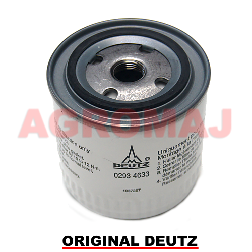 DEUTZ Oil filter TD4L2009 TD2009L04, 02934633,