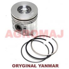 YANMAR Tłok kompletny z pierścieniami (STD) 4TNV94 4TNV94L