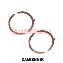 PERKINS Pierścień oporowy wału (0,25)