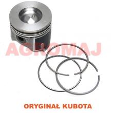 KUBOTA Tłok kompletny z pierścieniami (STD) V3307 V3307T
