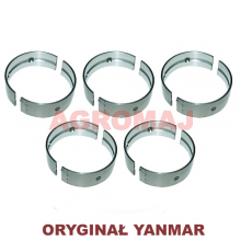 YANMAR Komplet panewek głównych (0,25) 4TNE106D 4TNE106T