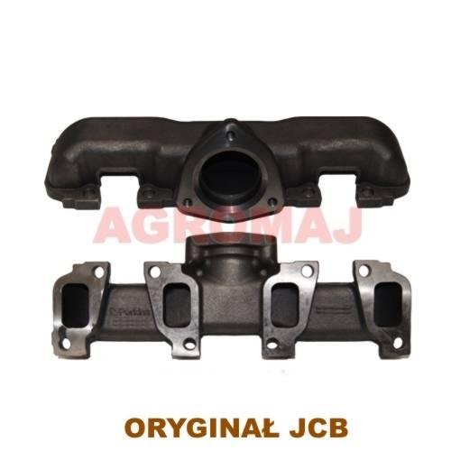 JCB Kolektor wydechowy 1104D-44 1104C-44, 02/203129, 02203129