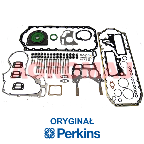 PERKINS Komplet uszczelek blok silnika 106D-E66TA 1106C-E66TA, t403017,