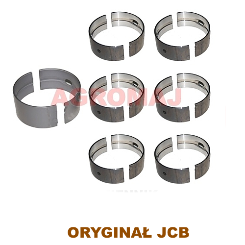 JCB Komplet panewek głównych (0,50) AT6.354.4 1006.6T, 02/192024, 02192024, 30/2-52b