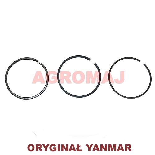 YANMAR Komplet pierścieni tłokowych 3TNE84 4TNE84, 129004-22500, 12900422500, 729350-22500, 72935022500
