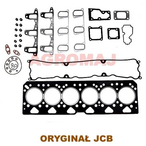 JCB Komplet uszczelek - góra silnika 1106C-E60TA, 02/201594, 02201594, 30/71-608