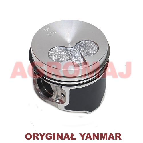 YANMAR Tłok kompletny z pierścieniami (STD) 3TNV70, 119515-22080, 11951522080