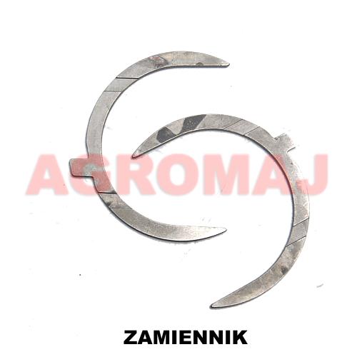 DEUTZ Pierścienie oporowe wału korbowego (0,25) D2011L02L F4M2011, 02928962, 02928961